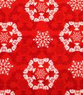 Christmas Vacation No Sew Throw Fleece Kit-Lights