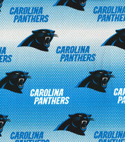 "Carolina Panthers Cotton Fabric 58""-Mini Dot, , hi-res"