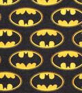 DC Comics Flannel Fabric 42\u0022-Batman Logo