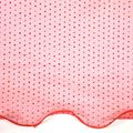 All That Glitters Fabric- Wired Tulle Glitter Coral