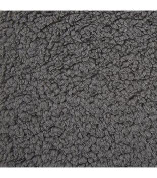 Fashion Faux Fur Sherpa Fabric -Grey