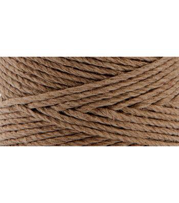 Hemptique #20 205' Hemp Cord Spool-Light Brown