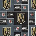 Vegas Golden Knights Cotton Fabric -Block