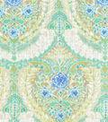 Dena Home Multi-Purpose Decor Fabric 54\u0022-Mural Floral/Tidepool