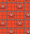 University of Virginia Cavaliers Flannel Fabric 42\u0022-Plaid