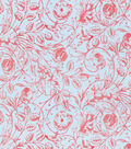 Keepsake Calico Cotton Fabric-Floral Dawn