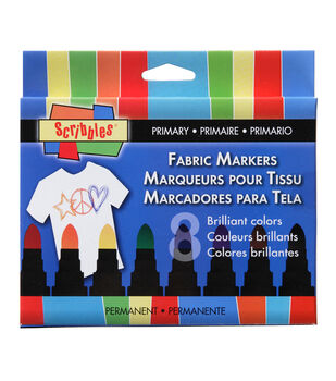 Scribbles Markers 8Pk - Primary