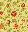 Waverly Lively Trail Lightweight Decor Fabric 54\u0022-Honeysuckle