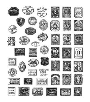 Stampers Anonymous Tim Holtz Cling Mount Rubber Stamp-Stamp Collector
