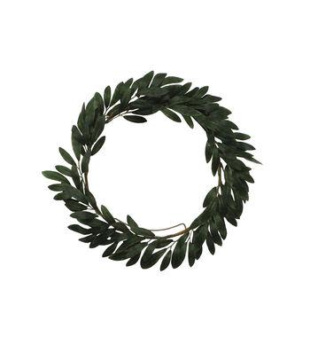 Olive Leaves Mini Wreath