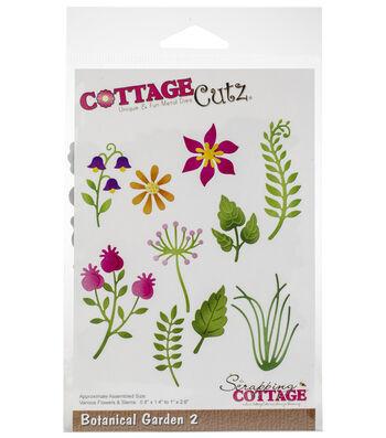 """CottageCutz Die-Botanical Garden 2 .8"""" To 2.6"""""""