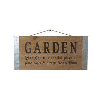 In the Garden Wall Decor-Garden Definition