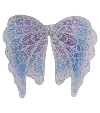 Maker's Halloween Child Angel Wings-Purple