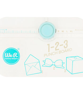 We R Memory Keepers 1-2-3 Punch Board