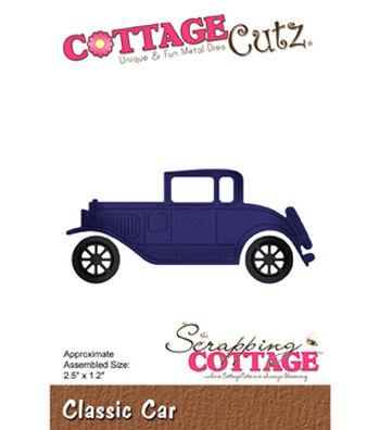 """CottageCutz Die-Classic Car 2.5""""X1.2"""""""