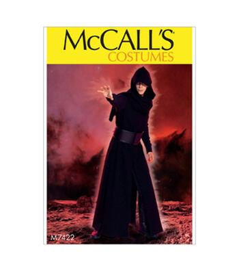 McCall's Pattern M7422 Men's Coat, Surcoat, Hood & Belt-Size 34-52
