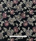 Casa Embellish Fall Velvet Burnout Fabric 44\u0027\u0027-Beaded Floral