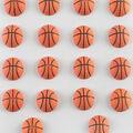 Flair Originals 18 pk 0.88\u0027\u0027 Basketball Buttons