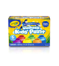Crayola Washable Kids Paint 2oz 6/Pkg-Classic