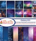 Ella & Viv Collection Kit 12\u0022X12\u0022-Galaxy