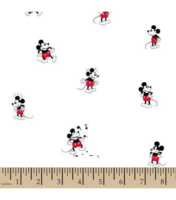 Disney Mickey Mouse Cotton Fabric-Toss