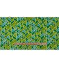 Anti-Pill Fleece Fabric 59\u0022-Nature Leaves