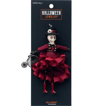 hildie & jo Halloween Doll Pendant-Day of the Dead Joan