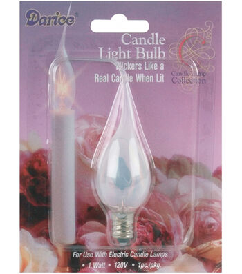 Darice Candle Light Silicone Bulb