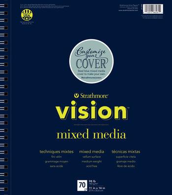 "Strathmore 11""x14"" Vision Mixed Media Pad"