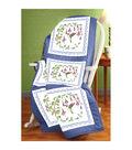 Hummingbird Quilt Block Stamped Cross Stitch-18\u0022X18\u0022 6/Pkg