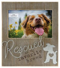 Rustic Woodgrain Planked 4\u0022x6\u0022 Frame -Rescued Breed