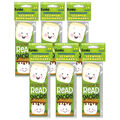 Marshmallow Scented Bookmarks, 24 Per Pack, 6 Packs