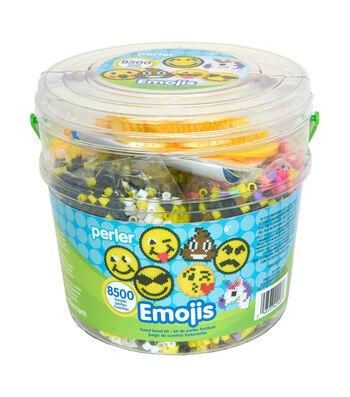 Perler Emoji Activity Bucket