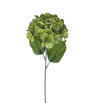 Blooming Autumn 27'' Hydrangea Stem-Green
