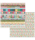 Christmas In The Village Double-Sided Cardstock 12\u0022X12\u0022-Square