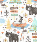 Snuggle Flannel Fabric -Camping Mix