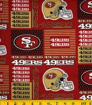 San Francisco 49ers Cotton Fabric -Patch, , hi-res