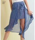Simplicity Pattern 8343 Misses\u0027 Skirt & Shorts-Size H5 (6-8-10-12-14)