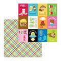 Doodlebug Design So Much Pun 12\u0027\u0027x12\u0027\u0027 Cardstock-Best I Ever Plaid