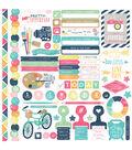 Creative Agenda Cardstock Stickers 12\u0022X12\u0022-Element