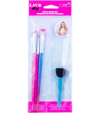 LaurDIY Small Brush Set 4Pc