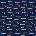 New England Patriots Cotton Fabric -Mini Print