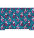 Snuggle Flannel Fabric 42\u0022-Princess Mermaids