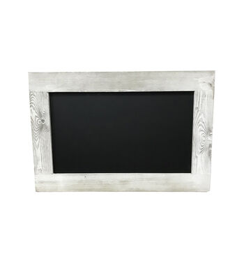 Chalkboard with Wood Frame 20''x30''