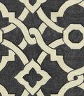 Waverly Lightweight Decor Fabric 54\u0022-Artistic Twist/Earl Grey