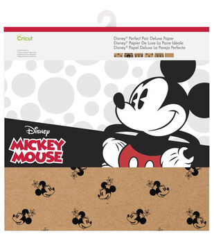 Cricut 12 Pack 12''x12'' Disney Perfect Pair Deluxe Paper