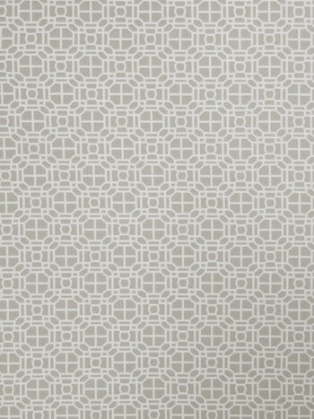 "Jaclyn Smith Multi-Purpose Decor Fabric 54""-Geo Rot/Dove Gray"