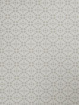 "Jaclyn Smith Multi-Purpose Decor Fabric 54""-Geo Rot/Dove Gray"
