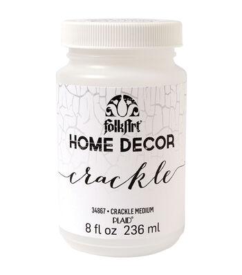 FolkArt Home Decor 8 fl. oz. Crackle Medium