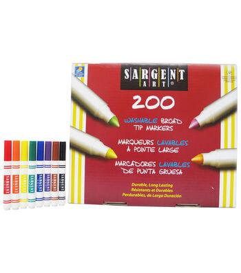 Sargent Art Washable Broad Tip Marker Classpack